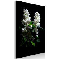 Tavla - Lilacs At Night (1 Part) Vertical - 80x120 Cm