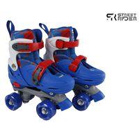 Street Rider Rullskridskor justerbara stl 31-34 blå