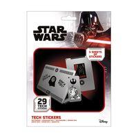 Star Wars - 29x Klistermärken