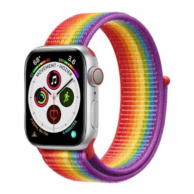 Apple Watch 5 (40mm) Nylon Armband - Pride Edition