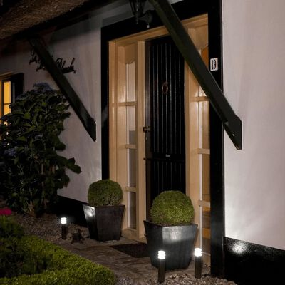 Luxform Trädgårdsbelysning solcell LED komplett set 3 st 12V Adelaide