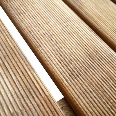vidaXL Altantrall 24 st 50x50 cm trä brun