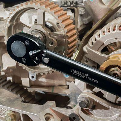 """Draper Tools Momentnyckel med skala 1/2"""" 30-120 Nm 64535"""