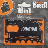Joker Multitool Multiverktyg JONATHAN kreditkort betalkort