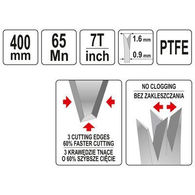 YATO Träsåg PTFE 400mm