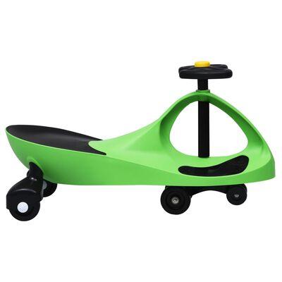 vidaXL Åkbil med tuta grön