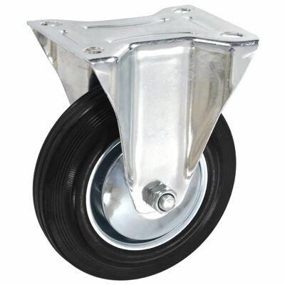 vidaXL Fasta hjul 24 st 160 mm