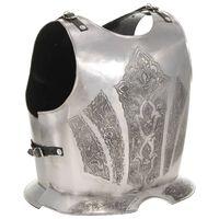 vidaXL Medeltida bröst- och ryggharnesk replica LARP stål
