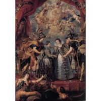 The Excbange of Princesses, Peter Paul Rubens