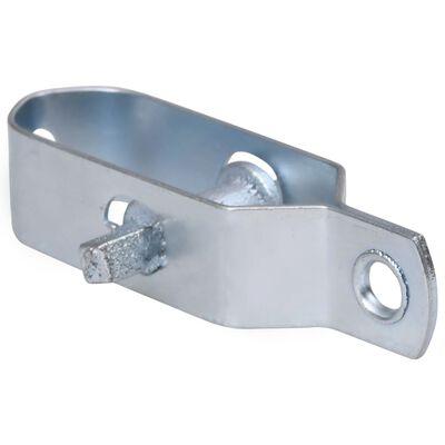vidaXL Trådspännare 250 st 90 mm stål silver
