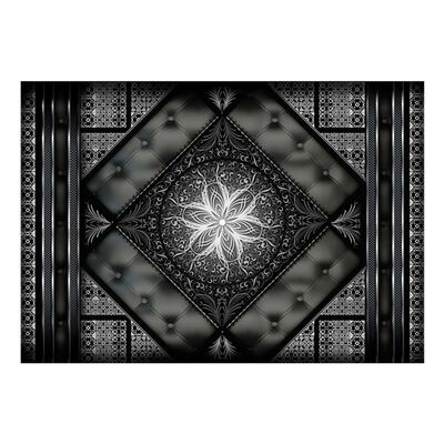 Fototapet - Black Mosaic - 250x175 Cm