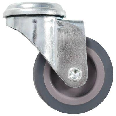 vidaXL Länkhjul med bulthål 16 st 50 mm