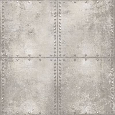 Urban Friends & Coffee Tapet betongblock grå och vit