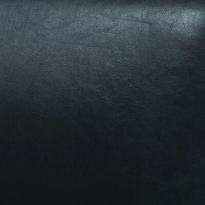 vidaXL Soffgrupp 2 delar konstläder svart