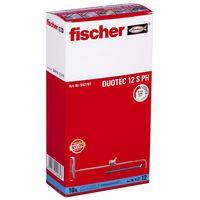 Fischer Nylonvikplugg med skruvar DUOTEC 12 S 10 st