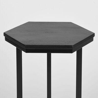 LABEL51 Laptopbord Slide 40x40x62 cm svart