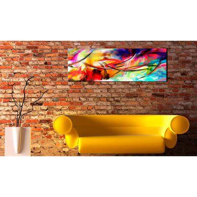 Tavla - Dance Of The Rainbow - 120x40 Cm