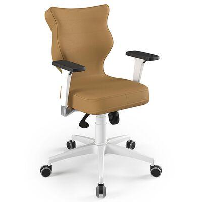 Entelo Ergonomisk kontorsstol Perto VE26 brun och vit