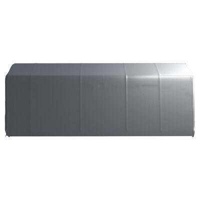 vidaXL Förvaringstält 300x600 cm stål grå