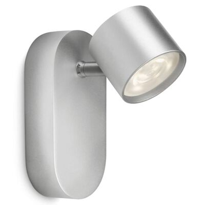 Philips myLiving LED-spotlight Star 4,5 W grå 562404816