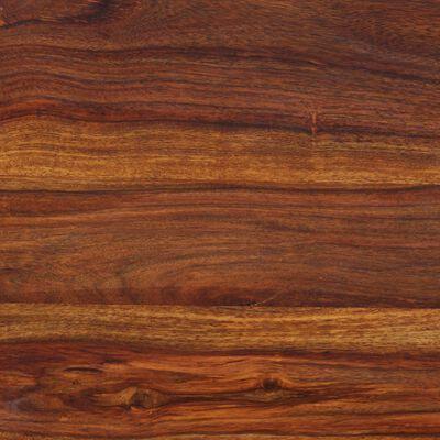 vidaXL Bänk massivt sheeshamträ 110x35x45 cm