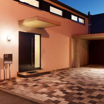 Steinel Sensorlampa för utomhusbruk L 1 svart husnummer