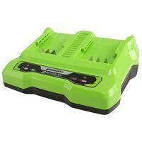 Greenworks Batteriladdare för 2 batterier 24 V 2 A