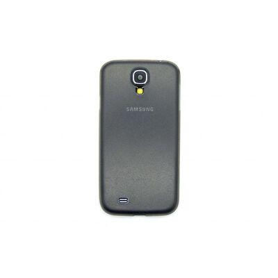 Galaxy S4 Ultratunn Plast Skal Skydd Case Cover Grå