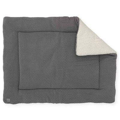 Jollein Filt för lekhage Bliss Knit 80x100 cm grå