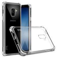 IMAK Shockproof silikonskal Samsung Galaxy A8 Plus 2018 (SM-A730F) Tra