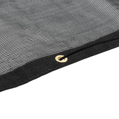 vidaXL Lastnät HDPE 2,5x4 m svart