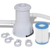 vidaXL Filterpump för pool 530 gal/tim