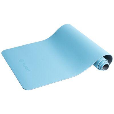Pure2Improve Yogamatta 173x58x0,6 cm blå och grå