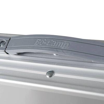 Bo-Camp Hopfällbart campingbord Premium 80x40 cm aluminium