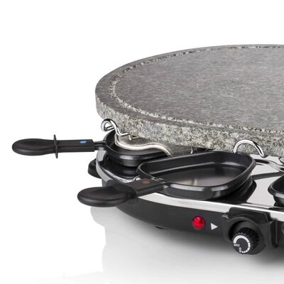 Princess Raclettegrill 8 personer oval sten 1200 W 162720