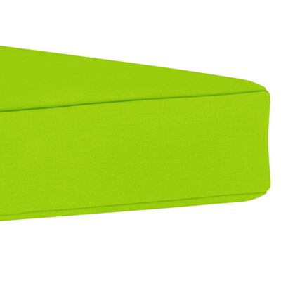vidaXL Dyna till pallottoman ljusgrön tyg
