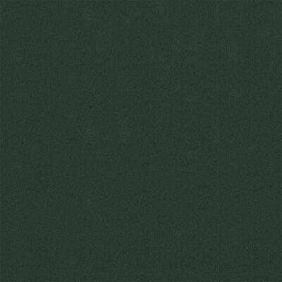 vidaXL Balkongskärm mörkgrön 90x500 cm oxfordtyg