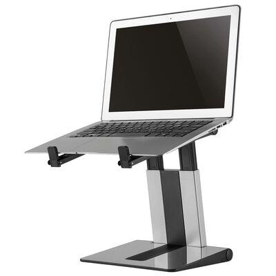 """NewStar Hopfällbart laptopställ 10""""-17"""" silver och svart"""