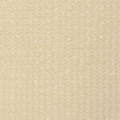 vidaXL Rullgardin utomhus 220x230 cm gräddvit