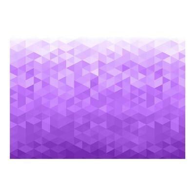 Fototapet - Violet Pixel - 100x70 Cm