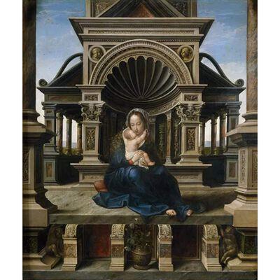 The Virgin of Louvain,Bernard van orley,45x39cm