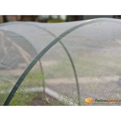 Nature Insektsnät 2x10 m transparent