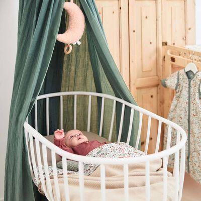Jollein Sänghimmel Vintage 155 cm askgrön