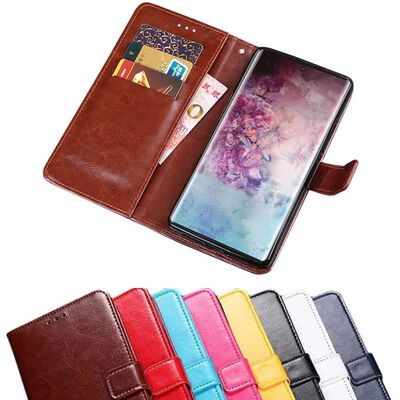 Mobilplånbok 3-kort Samsung Galaxy Note 10 (SM-N970F) Mörkblå