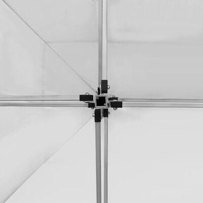 vidaXL Hopfällbart partytält aluminium 4,5x3 m vit