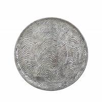 Dekorativ bricka silver KITNOS