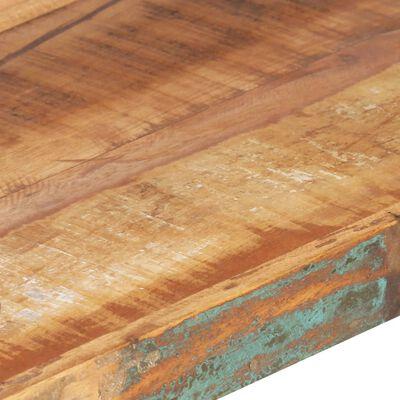 vidaXL Bokhylla med 4 hyllor 160x40x180 cm massivt återvunnet trä