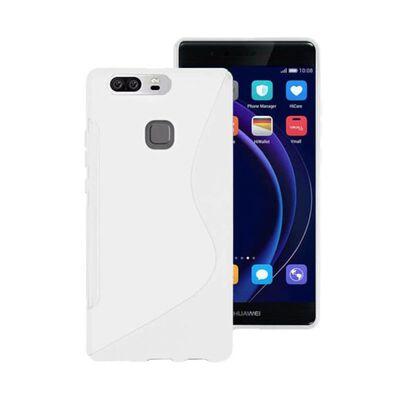 S Line silikon skal Huawei Honor 8 (FRD-L09) Vit