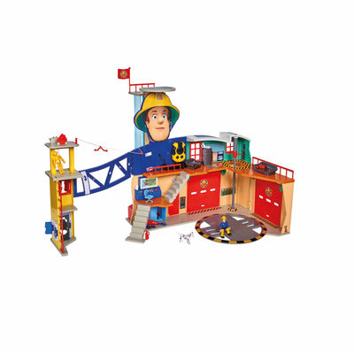 Fireman Sam Brandstation flerfärgad