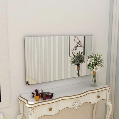 vidaXL Spegel utan ram 140x60 cm glas